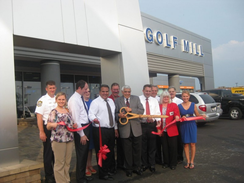Niles Chamber of Commerce congratulates Golf Mill Ford on their Re ...