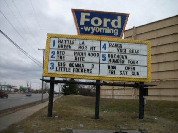 ford wyoming drive in upholds old movie watching tradition dearborn. Cars Review. Best American Auto & Cars Review
