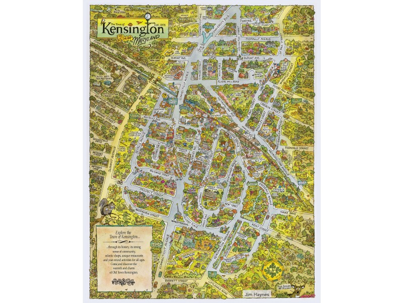 Proceeds From Sales of New Town of Kensington Poster to Benefit