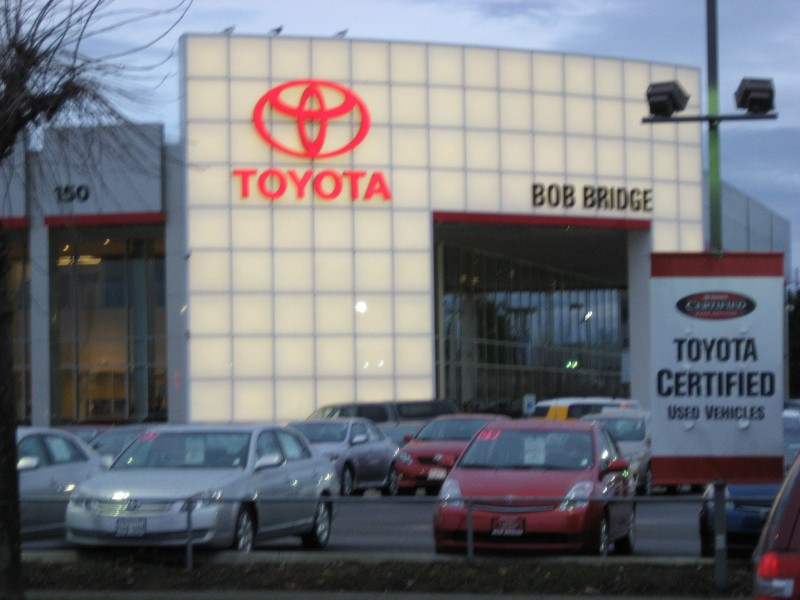 Bob Bridge Toyota Scion Dealership Of On Sold To Mike O Brien Wa Patch