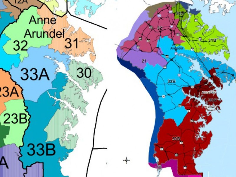 Proposed General Assembly Map Creates New District in South County