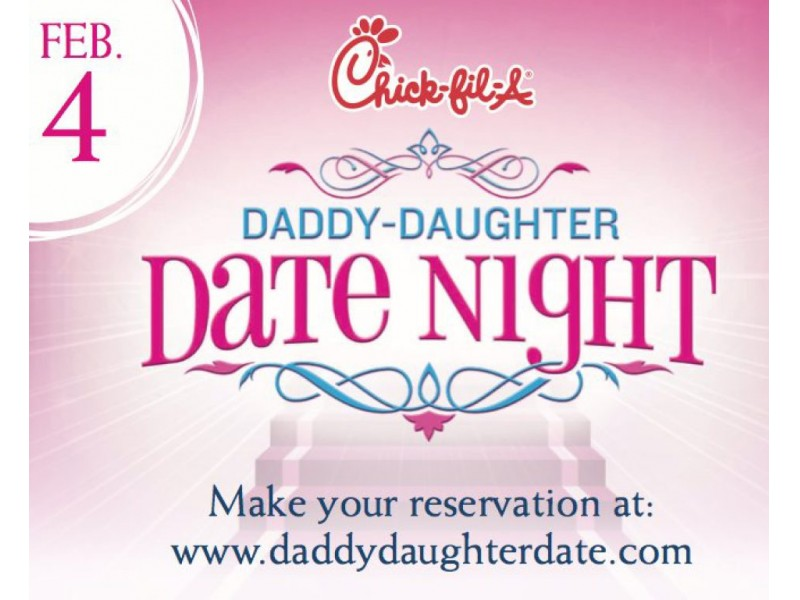 Chick-fil-a Daddy Daughter Date Night Peachtree City