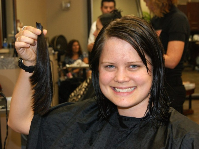 Kids Adults Donate Hair To Locks Of Love Johns Creek Ga Patch