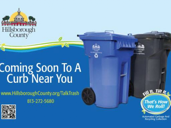South County Sanitary Service : Top questions about county s new automated garbage