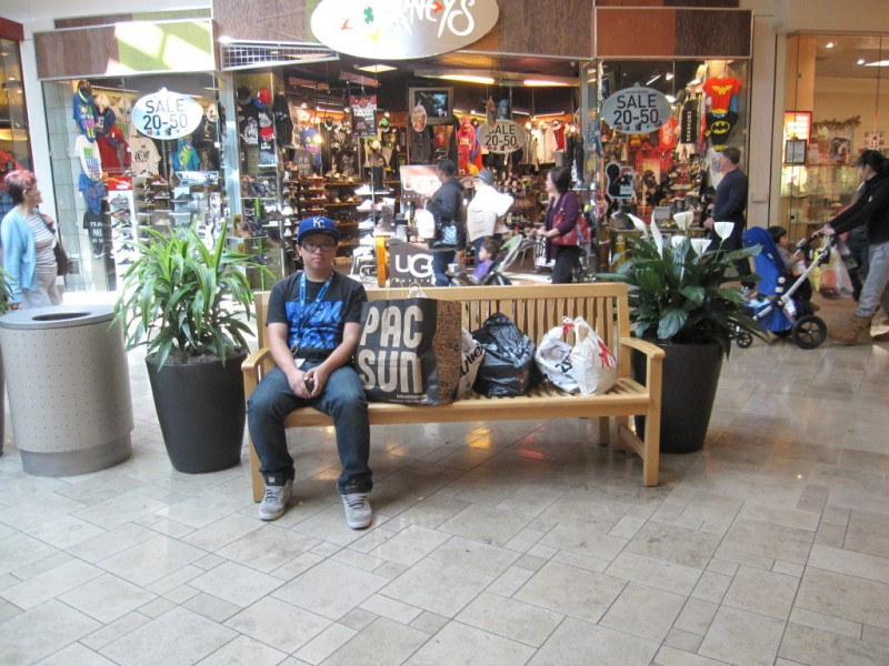 Black Friday Shopping At Westfield Santa Anita Mall