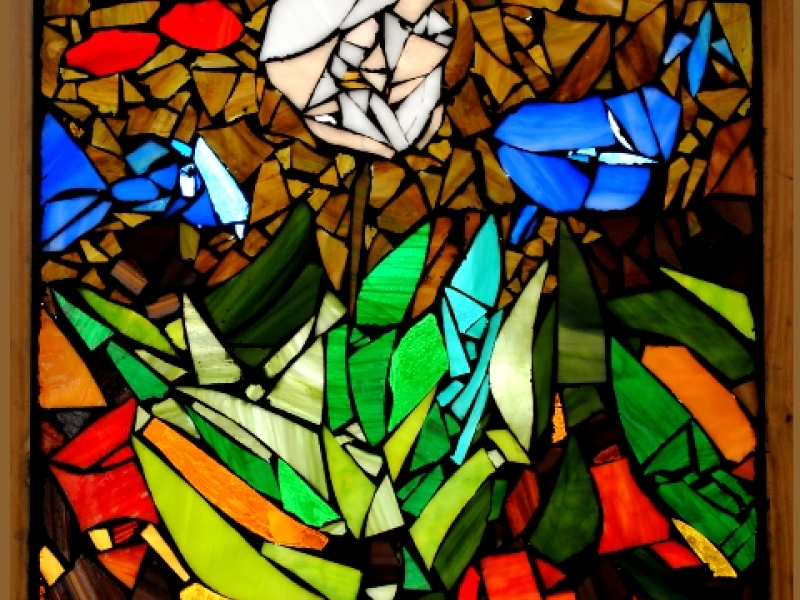 Stained Glass Artwork on Display at the Waldorf School of Garden ...