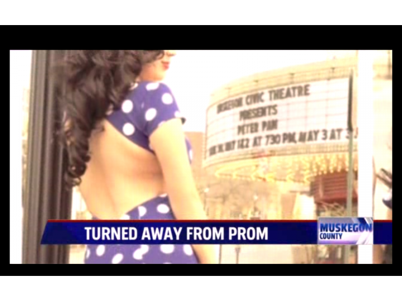 Teen Kicked Out of Prom for \'Revealing\' Prom Dress | Royal Oak, MI Patch