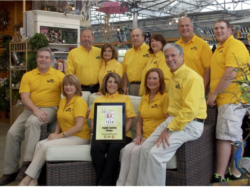 Local business named icg retailer of the year clinton English gardens clinton township michigan