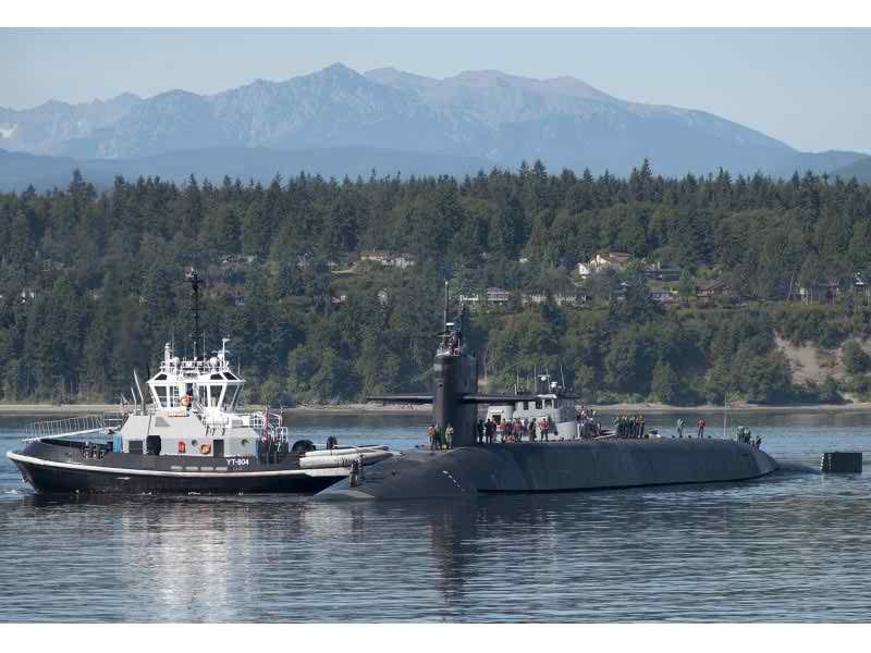 USS Michigan Returns to Pacific Northwest After Deployment | Fenton
