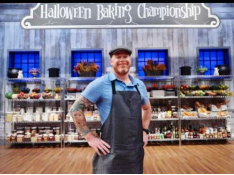plymouth chef competes in food networks halloween baking championship plymouth mi patch