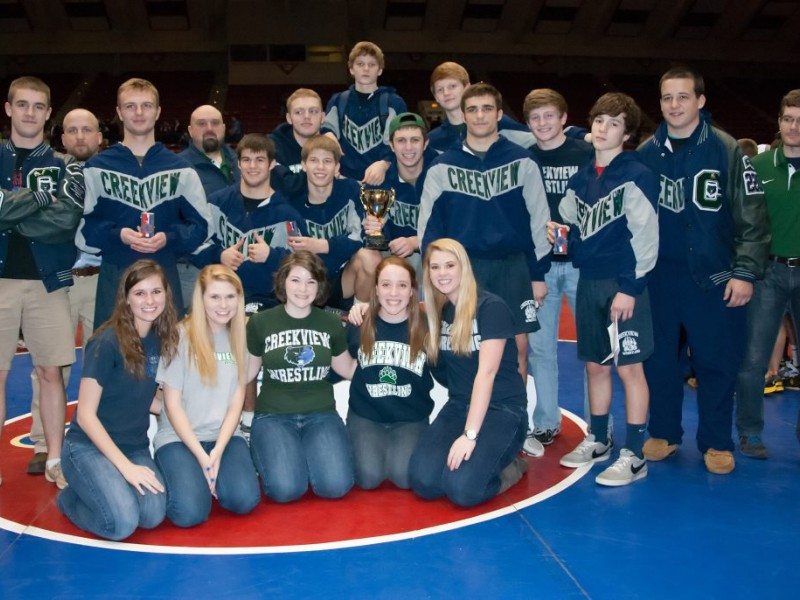 Roswell Recycling Center >> Creekview Grizzlies Place 4th At State Wrestling ...
