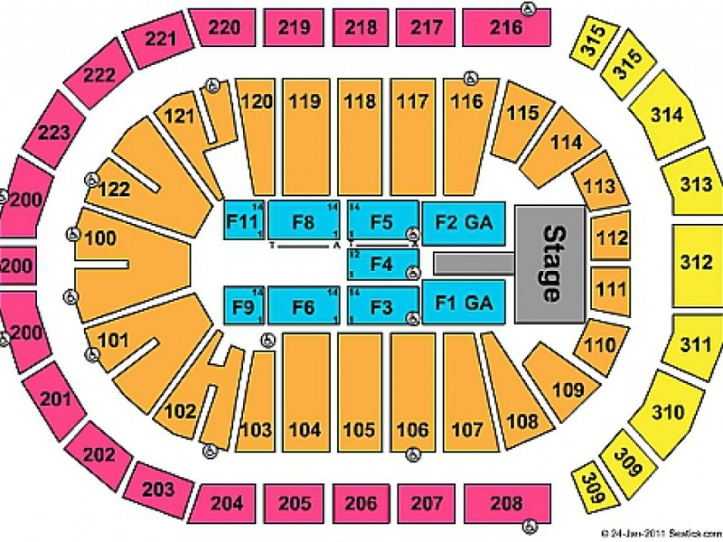 Ticketmaster Seating Chart Madison Square Garden