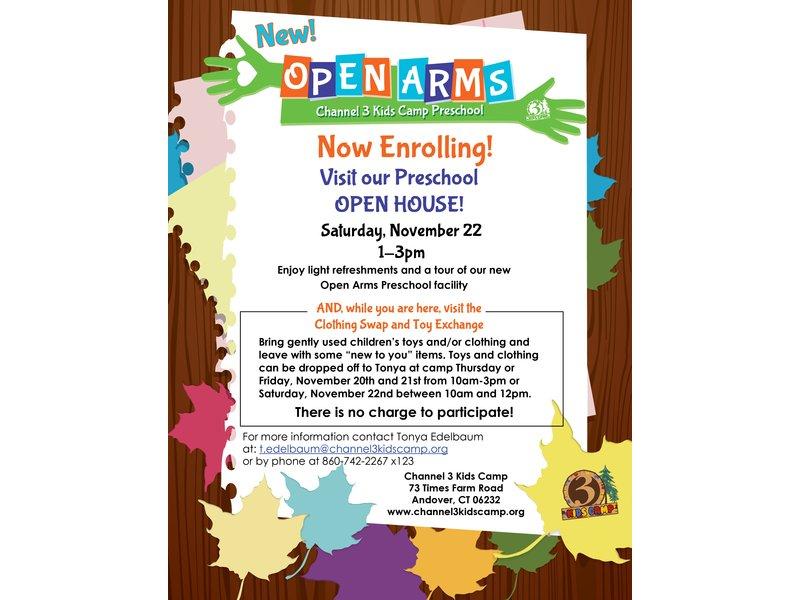 Preschool Open House Invitation - Letter BestKitchenView CO