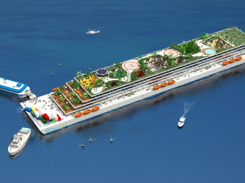 Plans Underway For A VisaFree Floating Community Off Half Moon - Living and working on a cruise ship