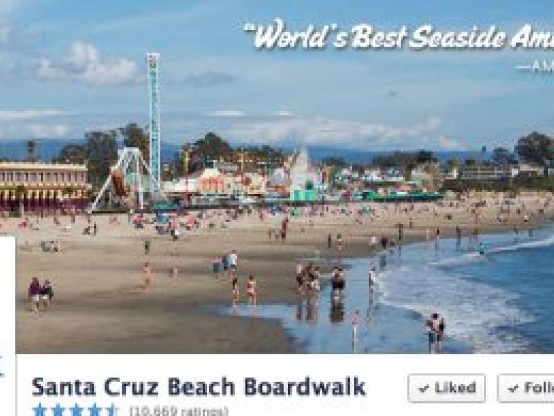 Santa Cruz Beach Boardwalk Is Open During Holidays
