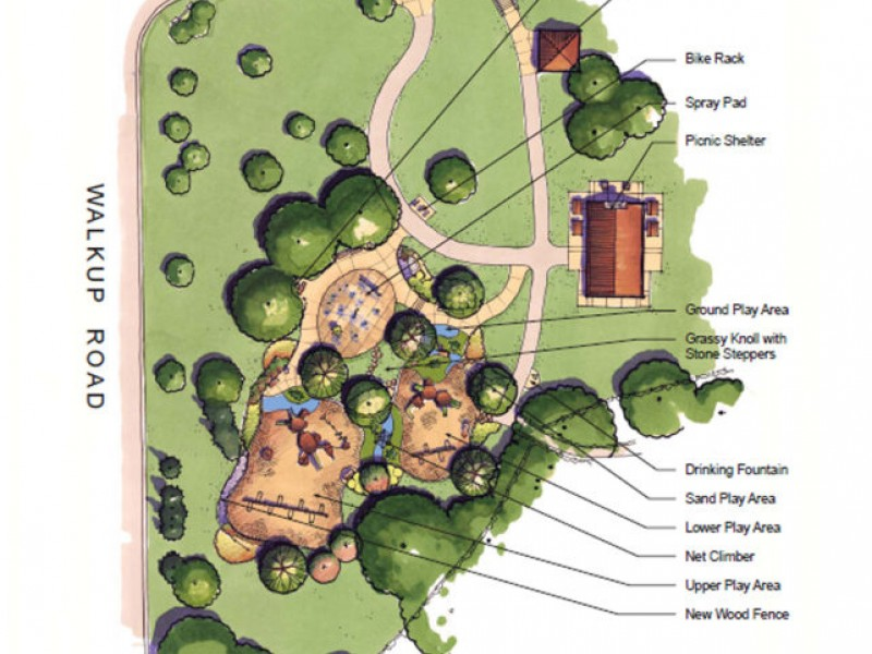 Crystal Lake Park District Plans Veteran Acres PlaygroundShelter - Bathroom remodeling crystal lake il