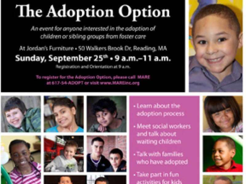 Jordan S Furniture Presents The Adoption Option Reading Ma Patch