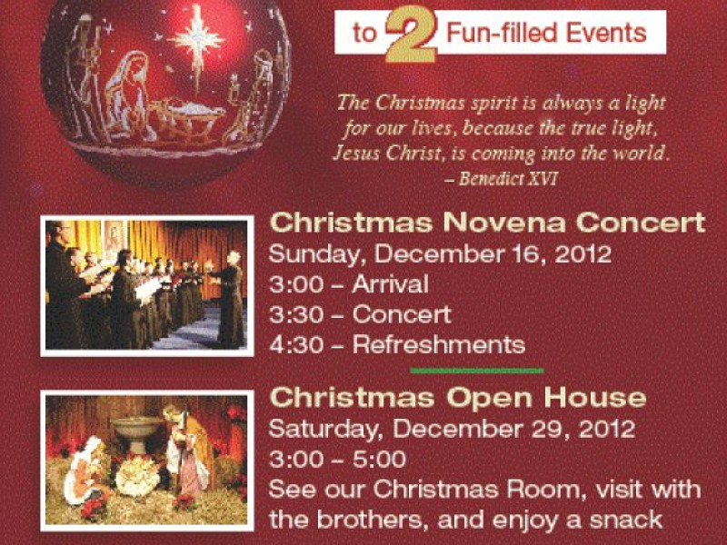 the christmas novena concert cheshire ct patch - Christmas Novena