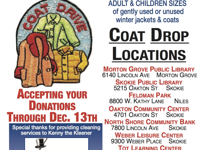 The Rotary Club Of Skokie Valley Annual Coat Drive Is Now Through