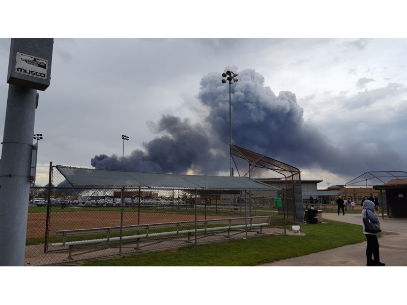 Furniture Warehouse Destroyed In Blaze Bolingbrook Il Patch