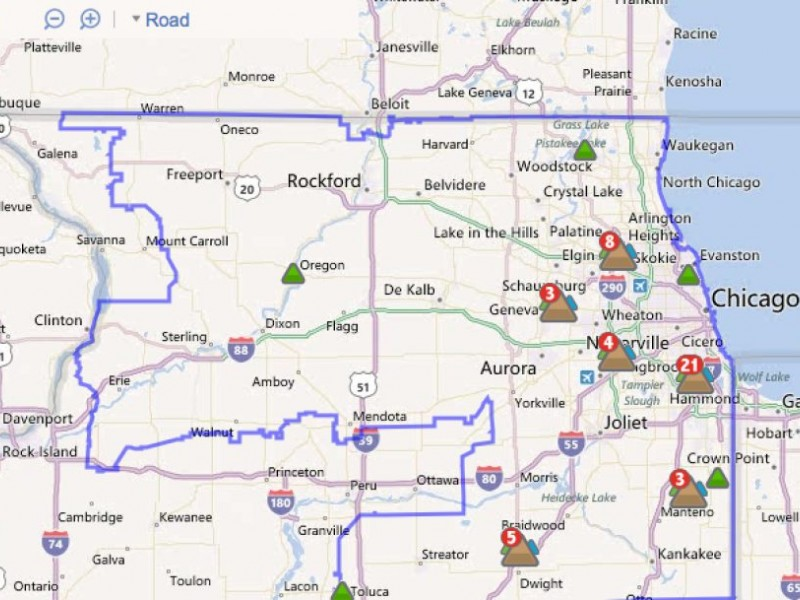 Comed Power Outage Map Comed Outage Map   DANZABELICA
