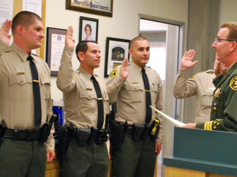 returning deputy three others join sheriffs ranks capitola ca patch
