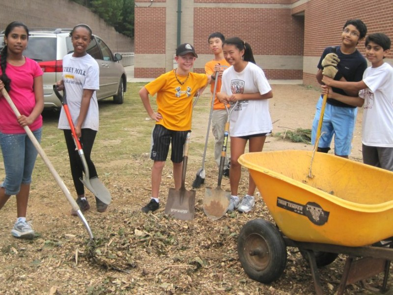 Planting a classroom at autrey mill middle johns creek for Autrey mill