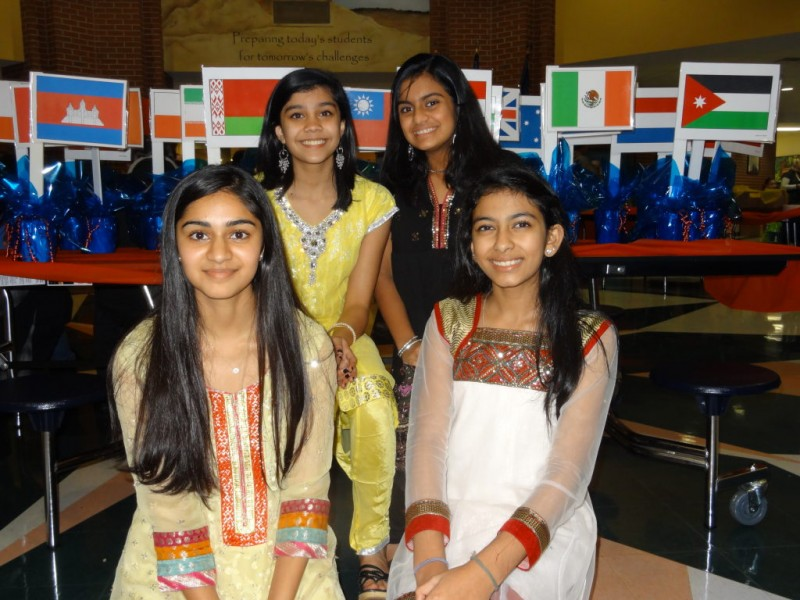 Autrey mill middle hosts multicultural night johns creek for Autrey mill