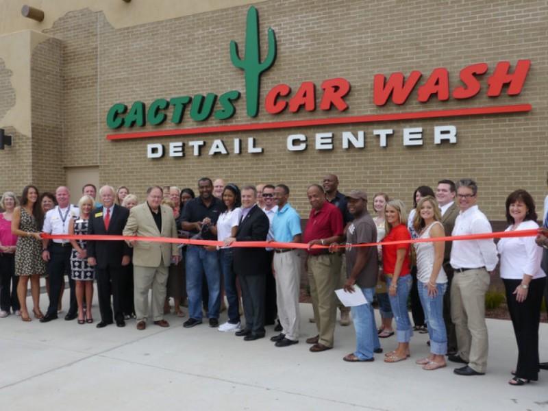 cactus car wash opens