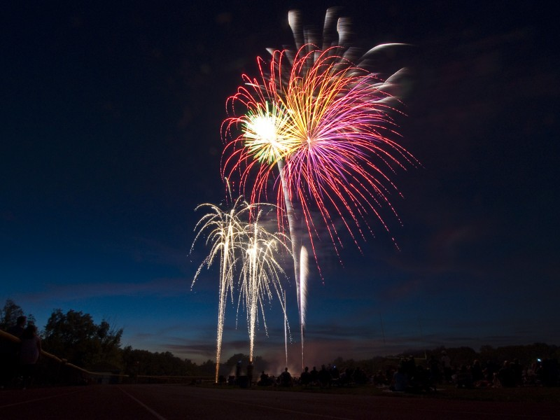 Fourth of July Weekend Fireworks Schedule