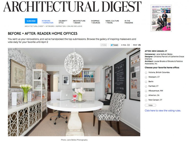 Architectural Digest gives the nod to a local office designed by 7 ...