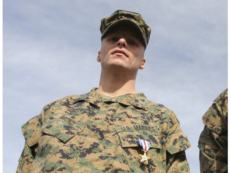 Silver Star Recipient To Take Command Of 1st Battalion