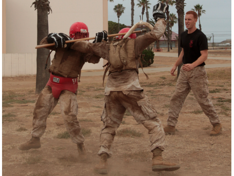 Martial Arts Instructor Course Teaches Marines Ethics In Fighting