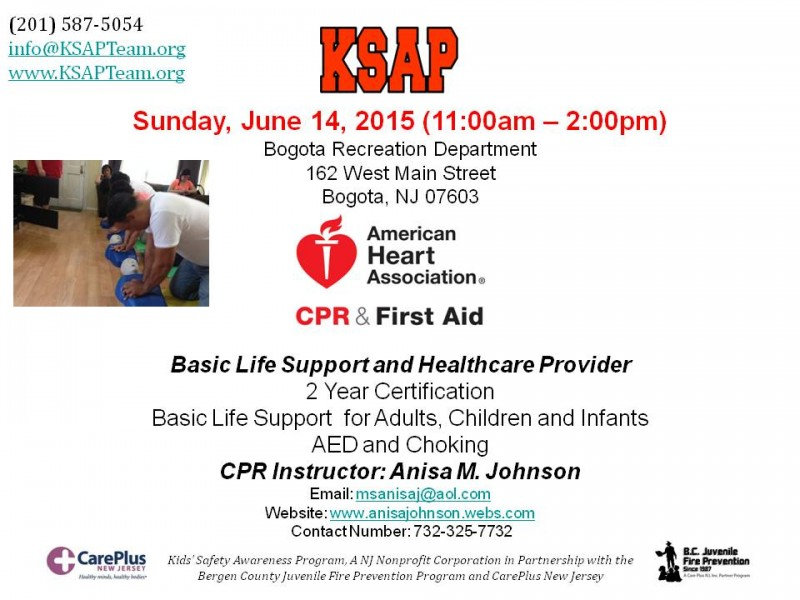 Cpr And First Aid Classes Teaneck Nj Patch