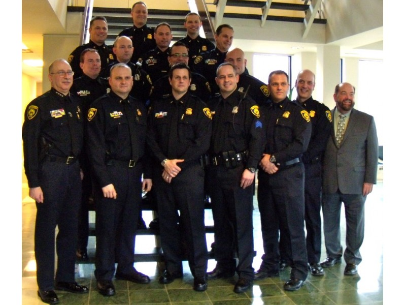 Dearborn police dept celebrates promotion of 7 officers - Garden city michigan police department ...