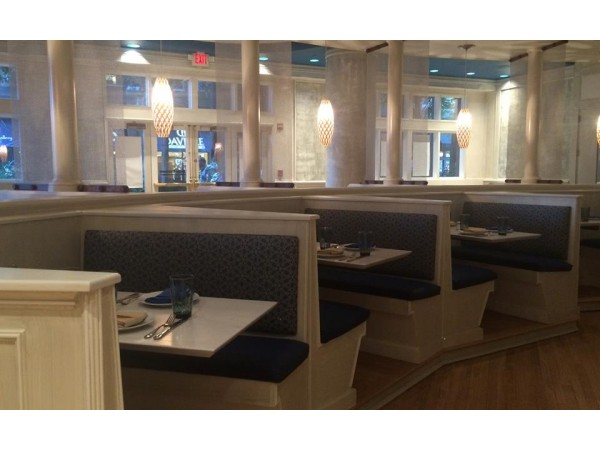 Neyla restaurant at reston town center set to open any day for Dining at at t center