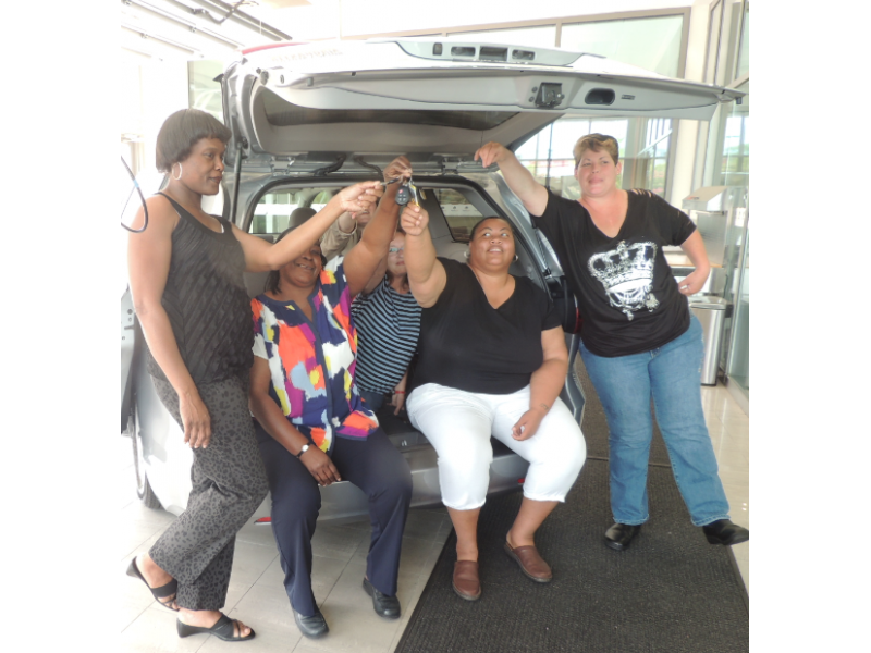 Jack Taylor Toyota Donates 2015 Sienna Van To Friends Of Guest House | Del  Ray, VA Patch