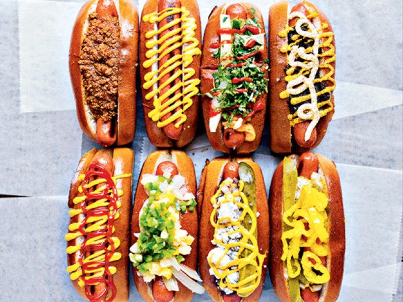 Hot Dog Heaven Breakfast Menu