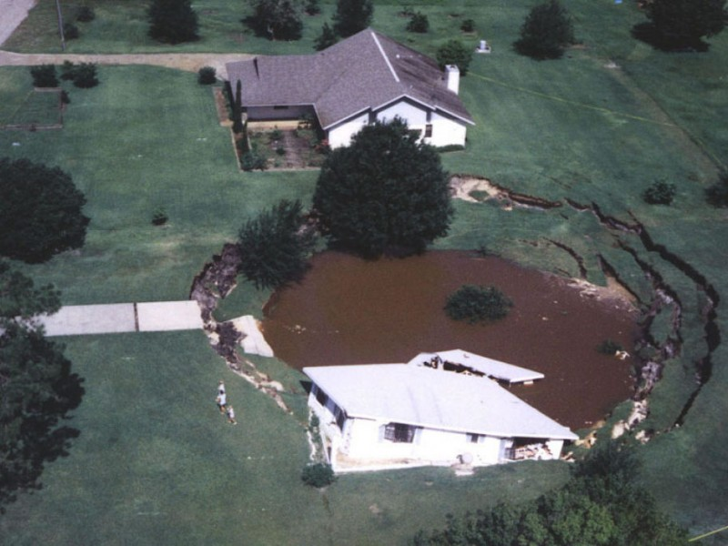 Carrollwood Part of Top 10 Sinkhole-Prone Florida Counties ...