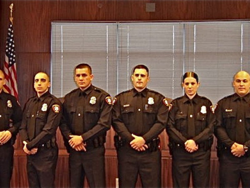 New Police Officers and Recruits Join the Woodbridge PD