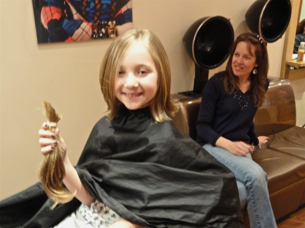 N Style Hair Salon Kernersville: Video: Little Girls Give Their Locks With Love