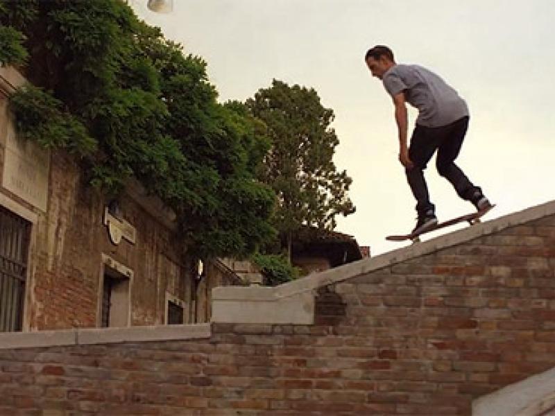 From Venice Beach to Venice Italy... Via Skateboard
