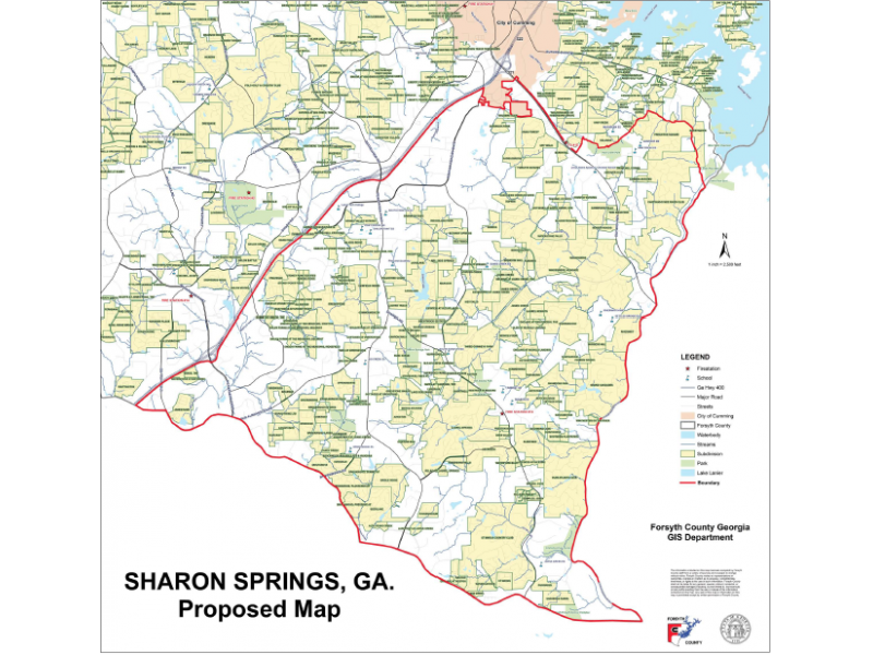sharon springs should forsyth form a second city cumming ga patch