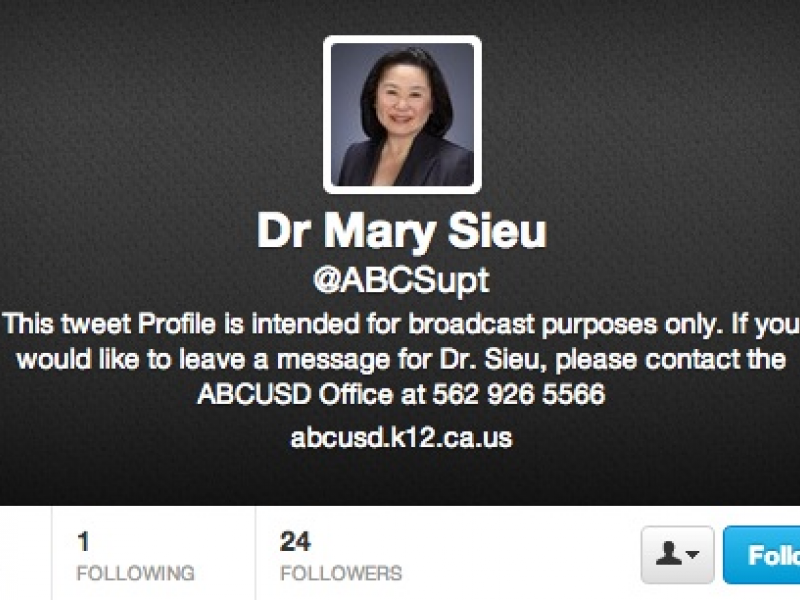 Sieu Encourages Community To Follow ABCUSDs Social Media Updates