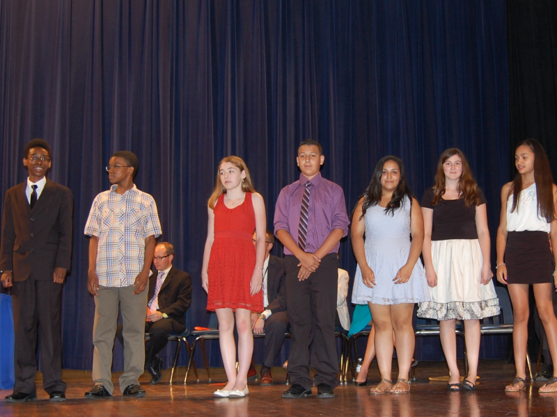 Odonnell Middle School 8th Grade Class Day Award Winners 2013