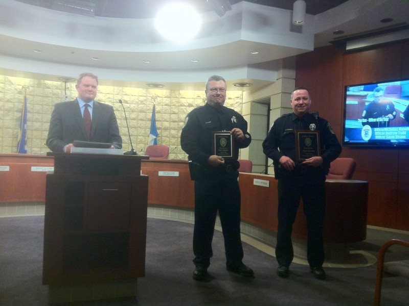 Fridley Police Department Honors Officers With Annual