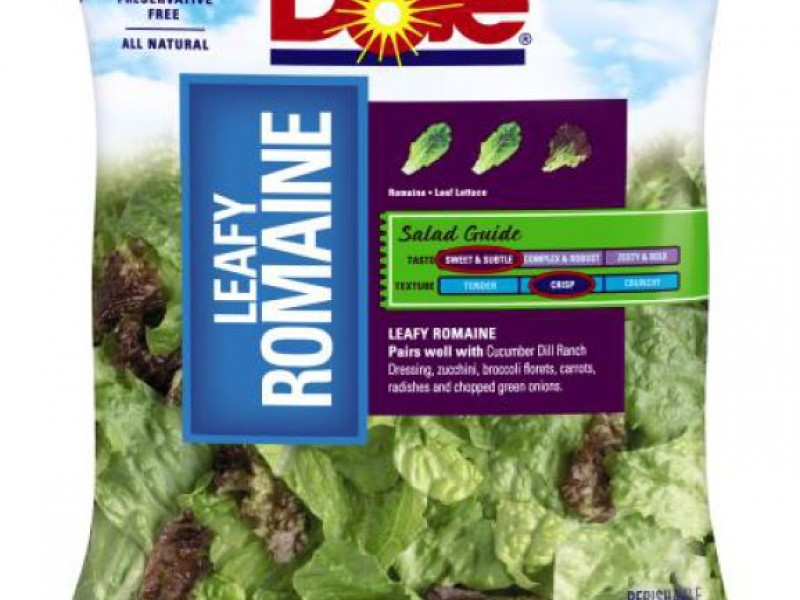 Dole Recalls 1 077 Cases Of Bagged Salad