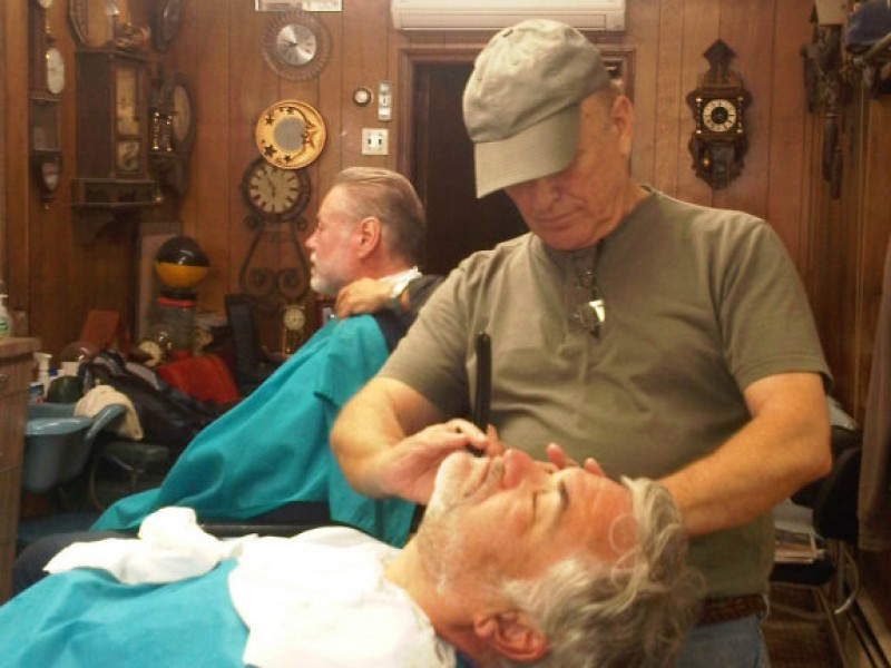Vintage Barber Shops Attract Seniors to Toddlers | Long ...
