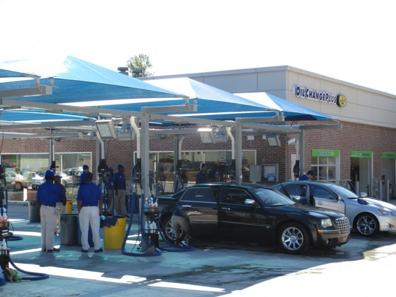 Car Wash Atlanta: Tide Dry Cleaners, Mr. Clean Carwash Opens In Roswell