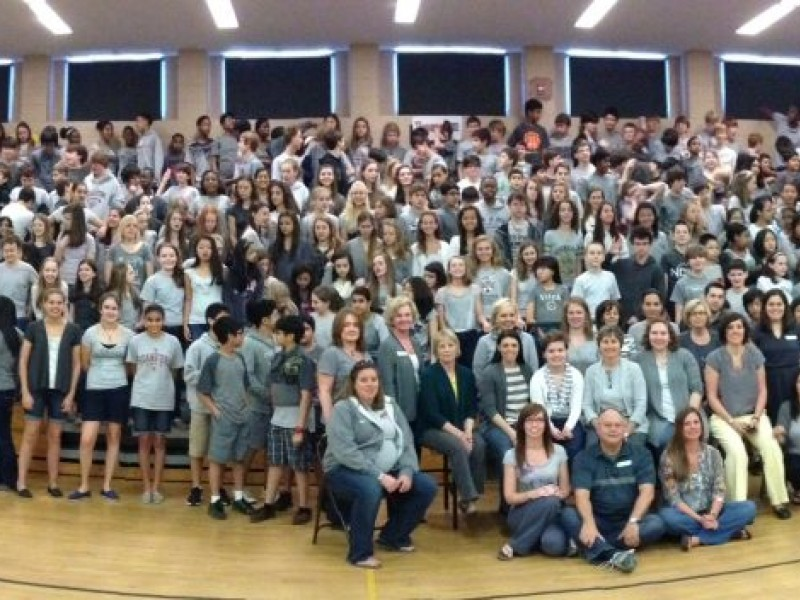 Autrey mill middle school supports brain tumor awareness for Autrey mill